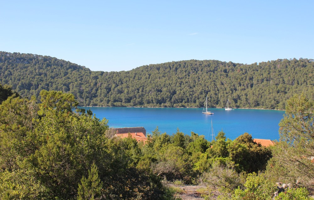 Mljet Croatie - panorama