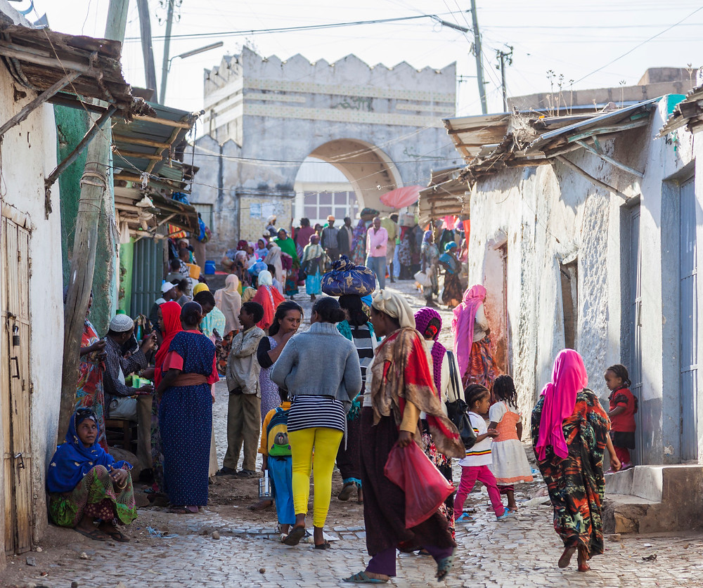 Harar ville habitants