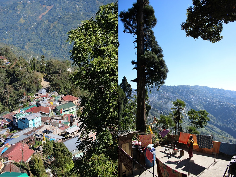 vues route Zoo de Darjeeling