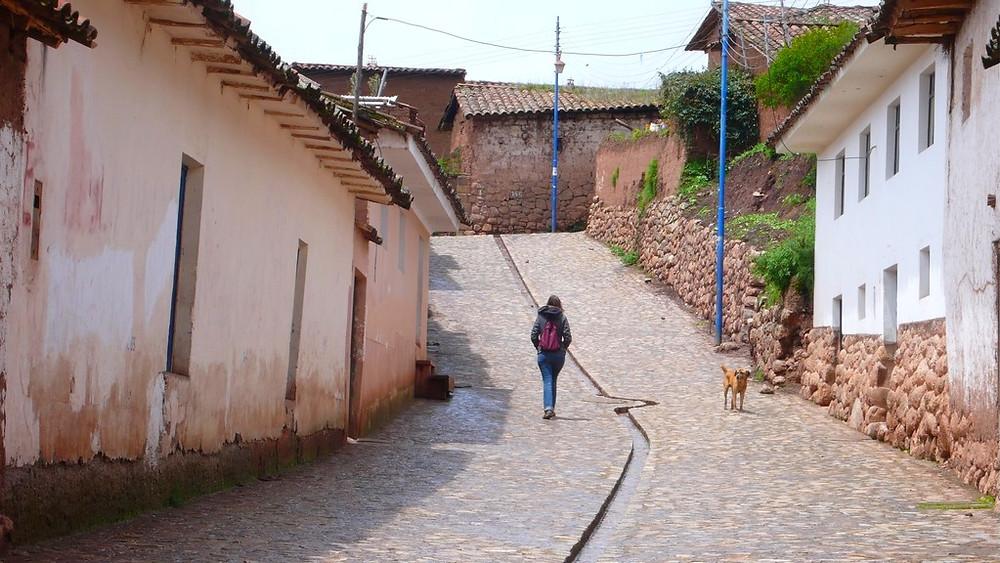 ruelle Chinchero au Pérou