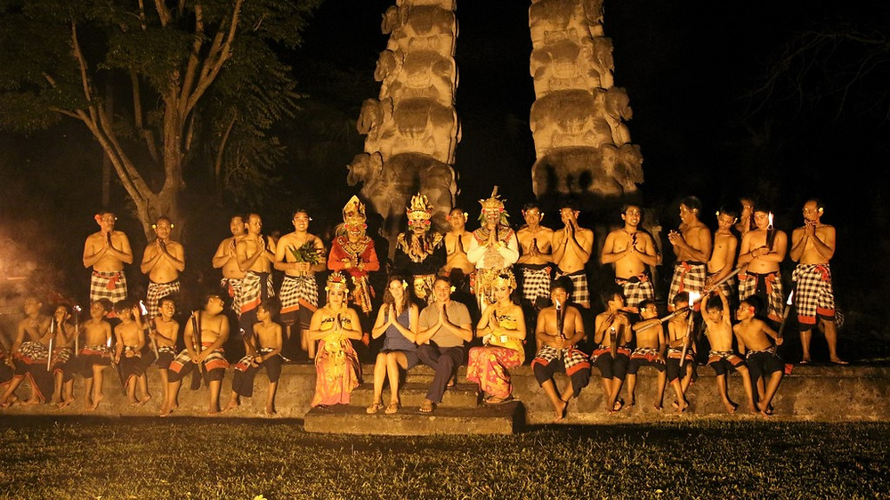 Chedi Club,  spectacle kecak