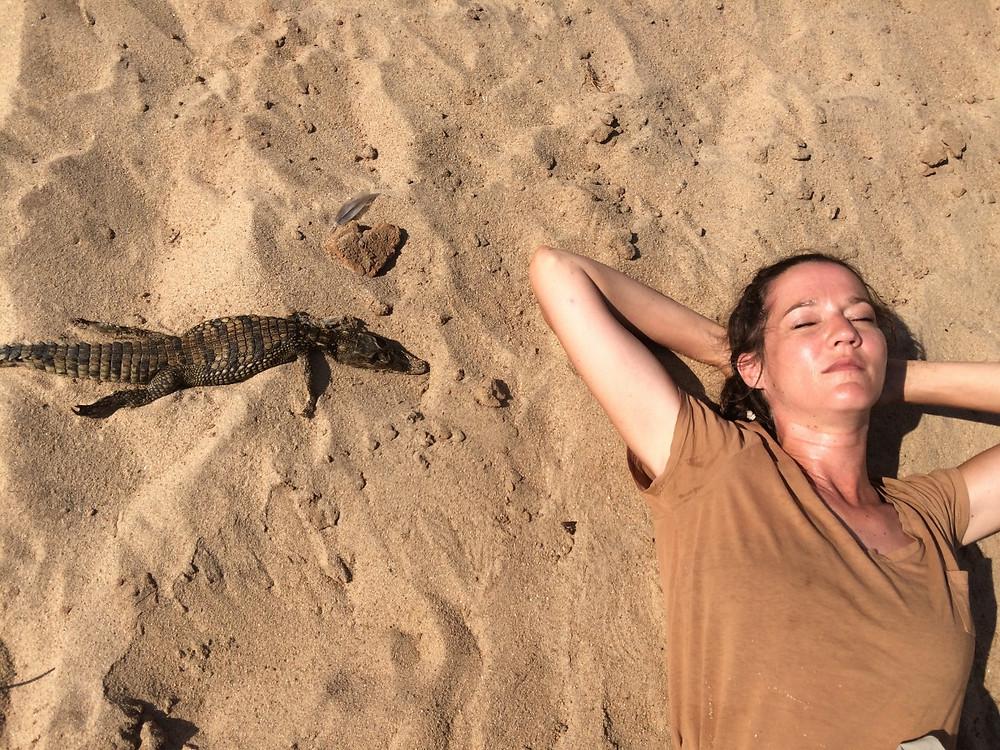 bébé crocodile madagascar