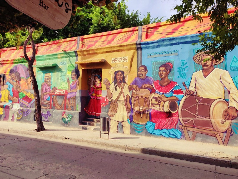 Santa Marta Colombie Street Art
