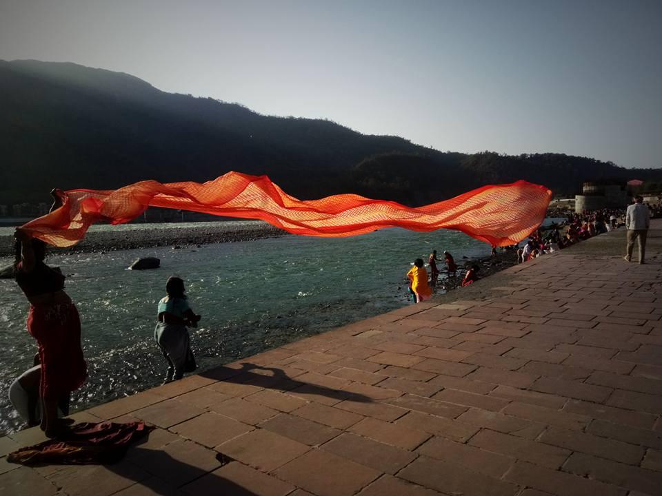 Yoga à Rishikesh voyage solo Inde