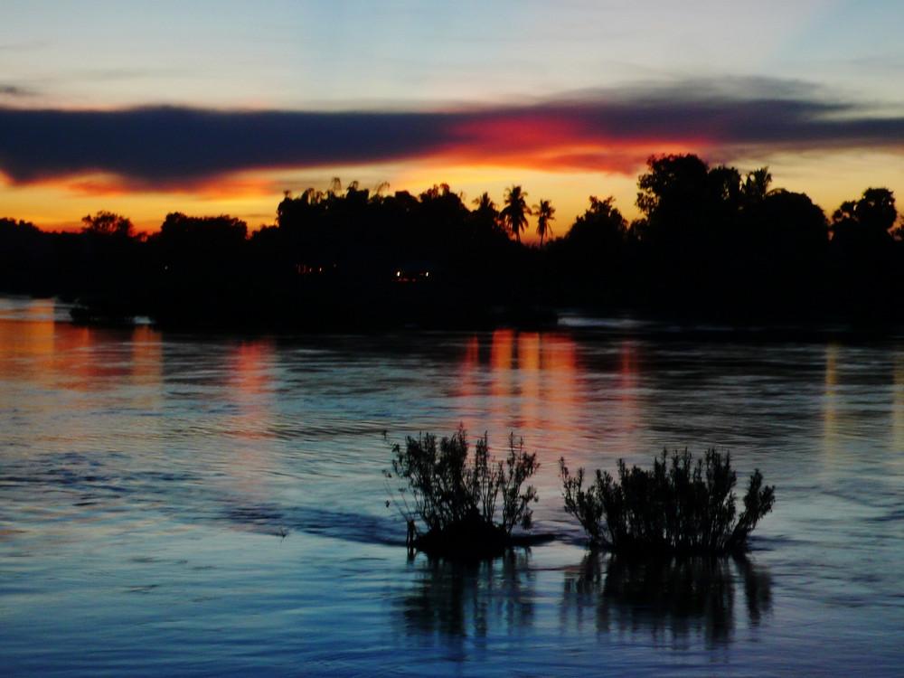 Don Det Les 4000 îles au Laos