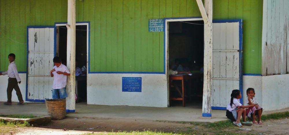 écoliers Don Khon Laos