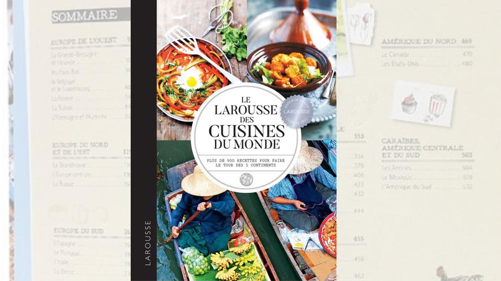 Livre cuisine du monde