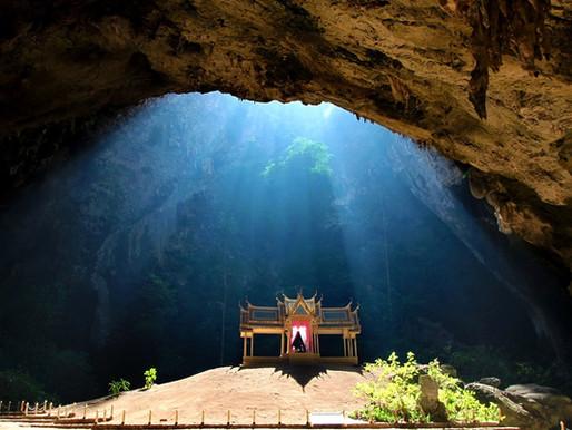La grotte Phraya Nakhon en Thaïlande