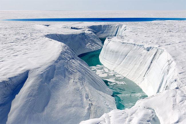 Canyon de glace Ice Canyon