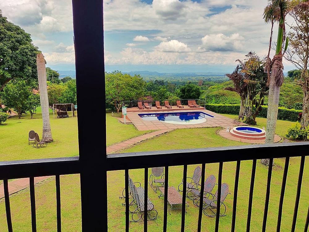 Hacienda café Alcala Colombie