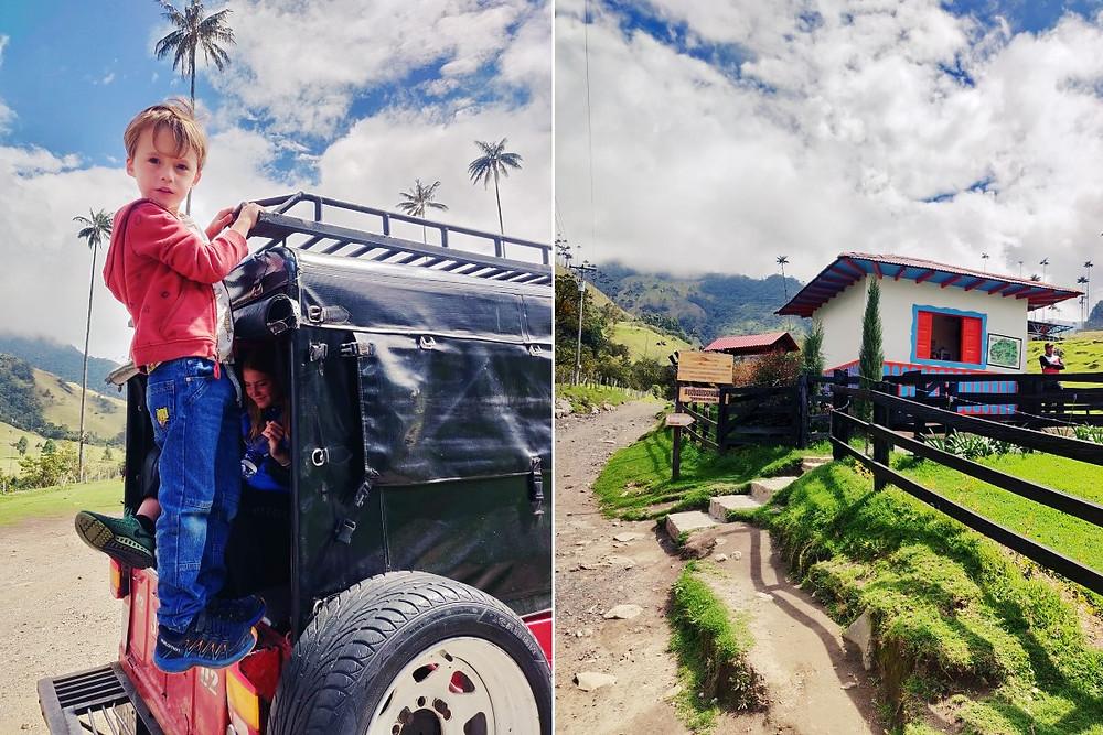 Jeep pour Valle Cocora