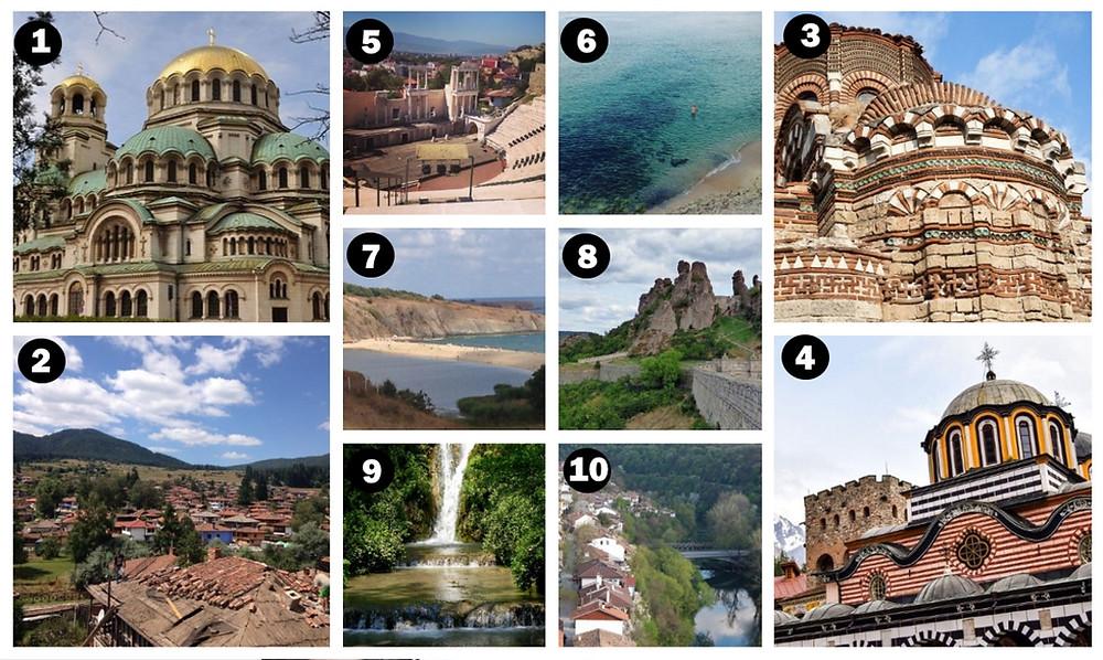 que voir en bulgarie
