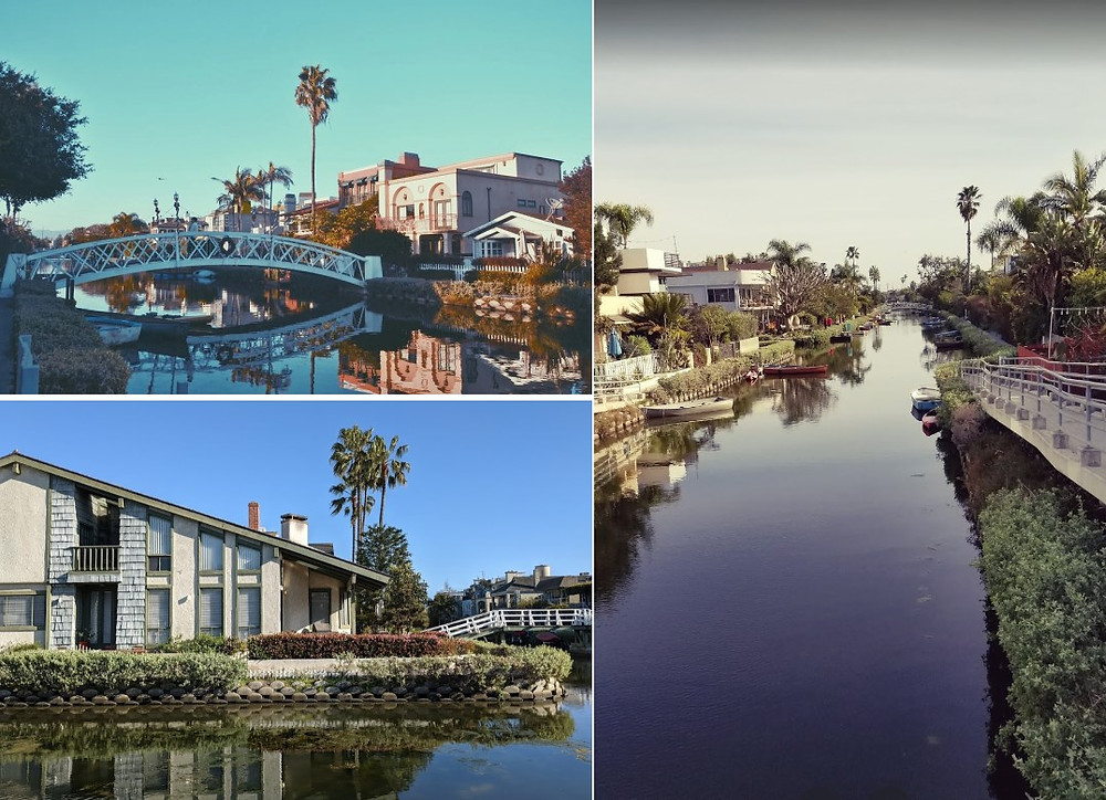 Canaux Venice los Angeles