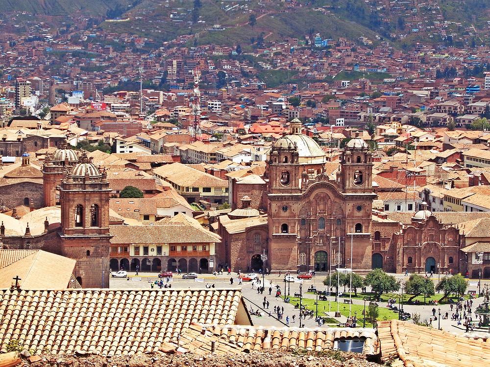 Vue Cuzco Perou