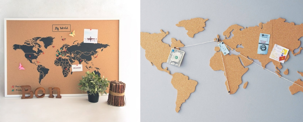 carte du monde en liege tous les mod les. Black Bedroom Furniture Sets. Home Design Ideas