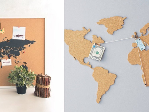 Carte du Monde en Liège : Tous les modèles