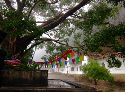 Les grottes de Dambulla au Sri Lanka
