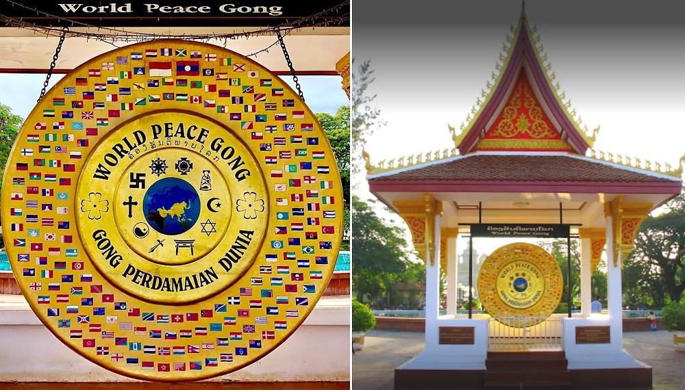 Vientiane Gong pour la Paix dans le Monde