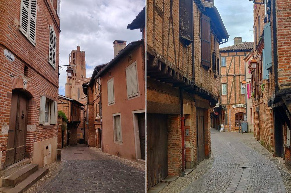 Albi visite vieille ville