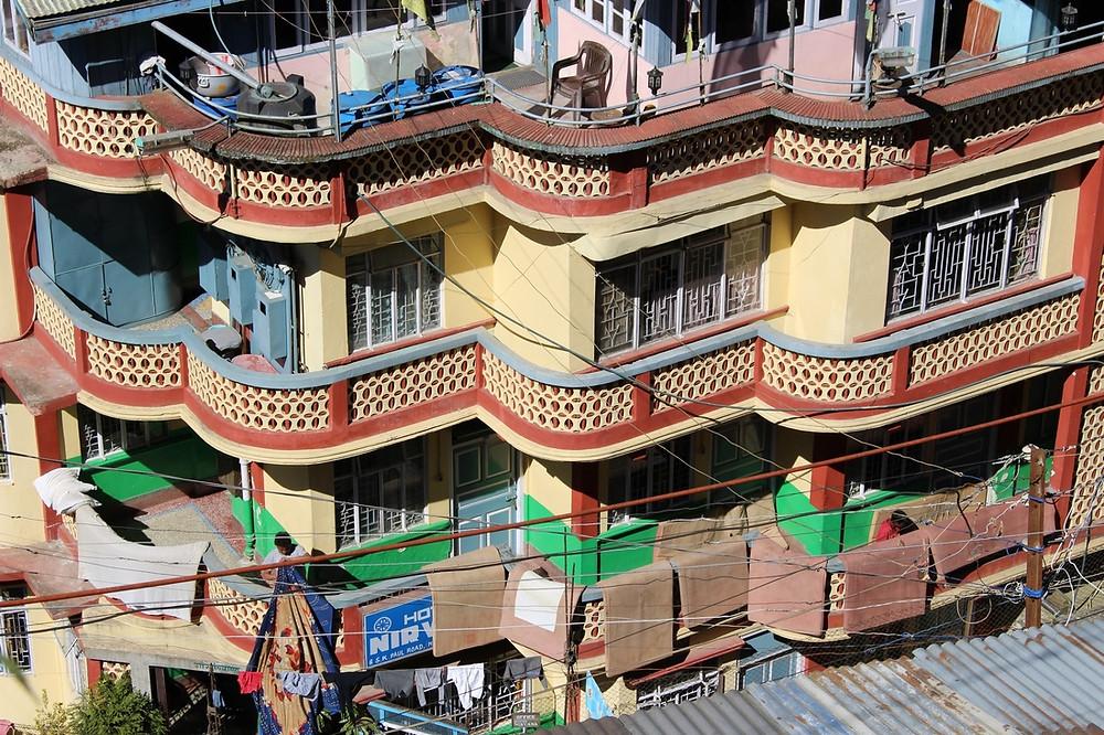 architecture Darjeeling, Inde