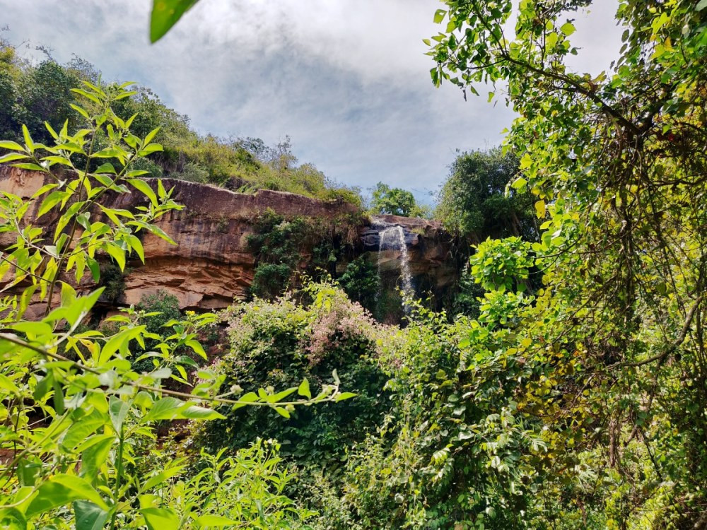 Cascade Zapatoca Colombie