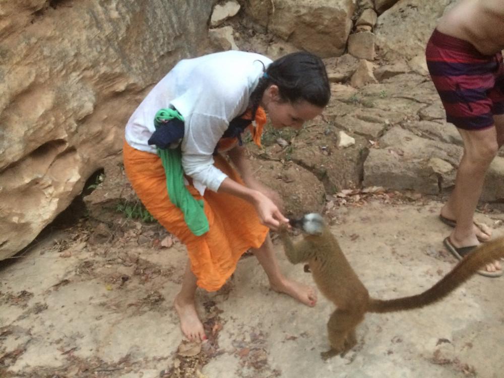 Tsiribihina en pirogue, Madagascar
