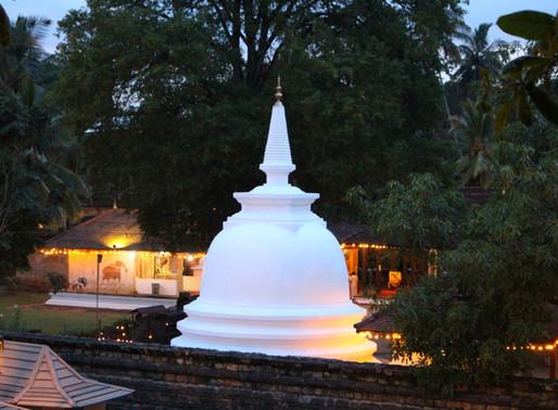 Kandy et le Temple de la Dent au Sri Lanka