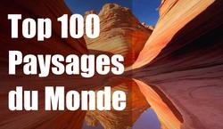 TOP 100 PAYSAGES DU MONDE