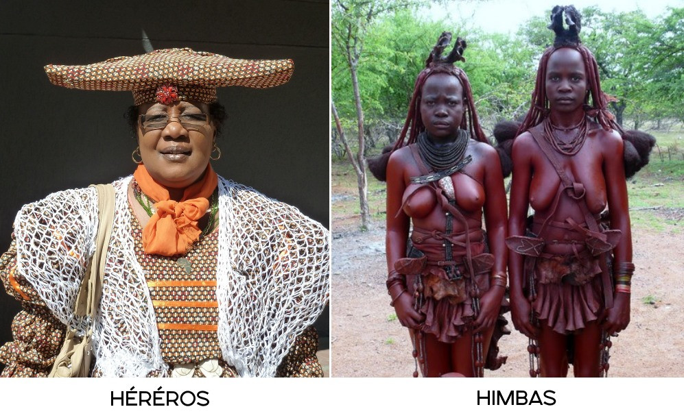 Hereros et Himbas difference