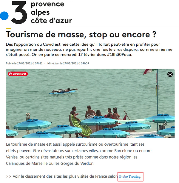 Article blog voyage france 3