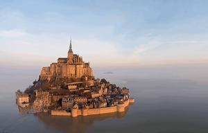 Mont saint michel Monument historique France