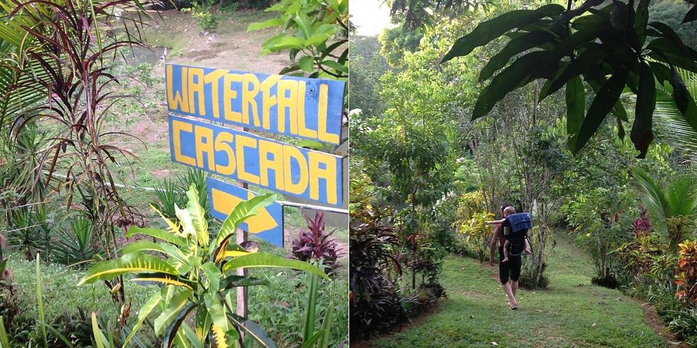 Cascade El Pavón Costa Rica