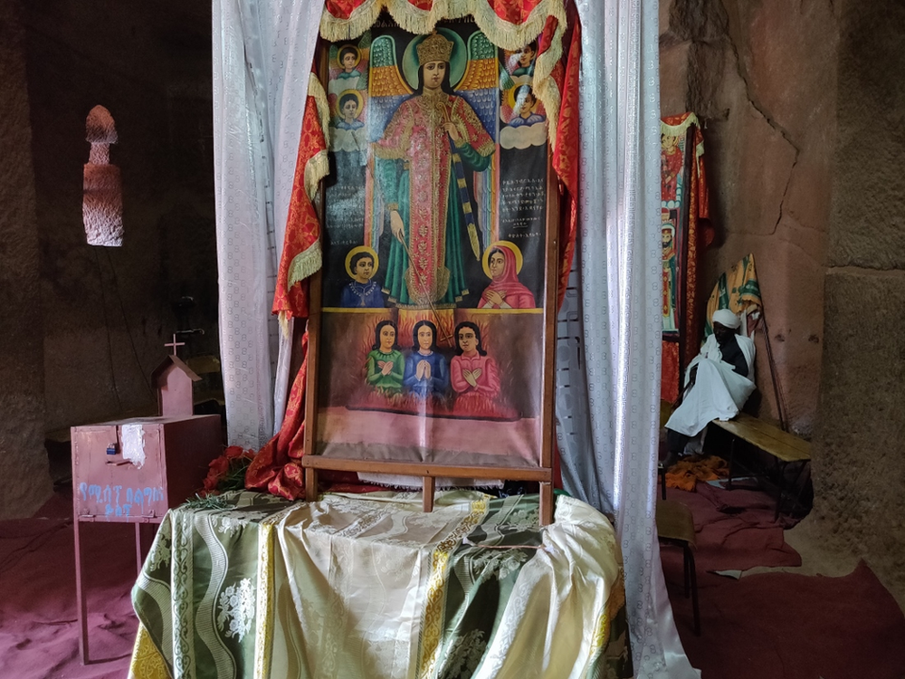 icone ethiopienne Lalibela