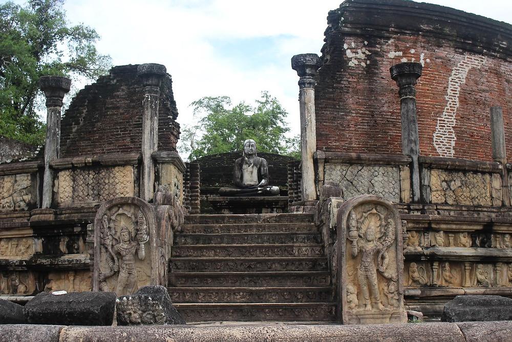 palais royal Polonnaruwa Sri Lanka