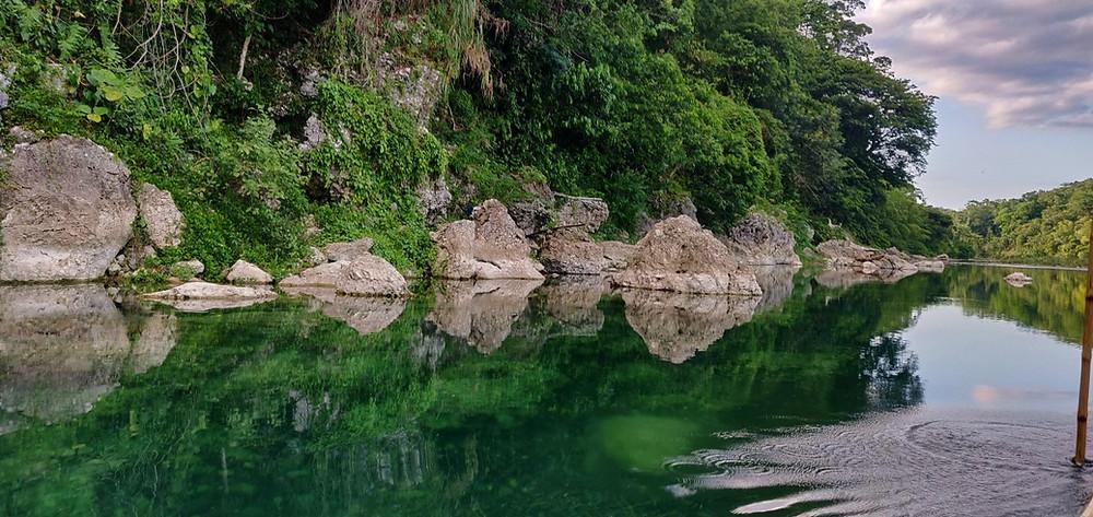 Rio Grande Port Antonio Jamaique reflets