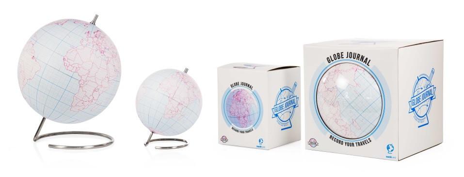 globe terrestre à peindre