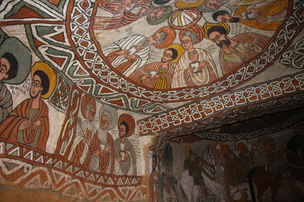 églises montagnes Mekele Gheralta