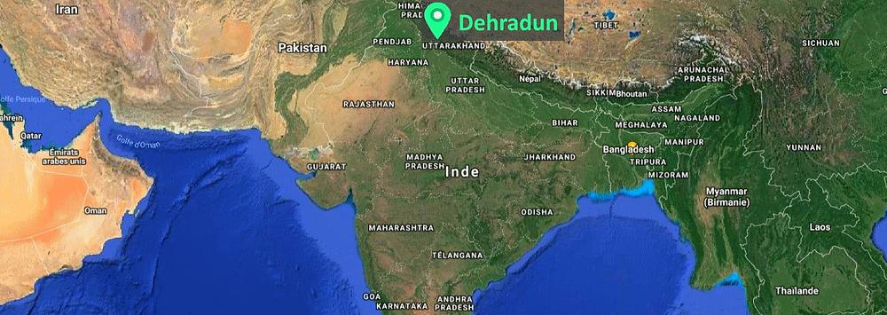 Dehradun Carte