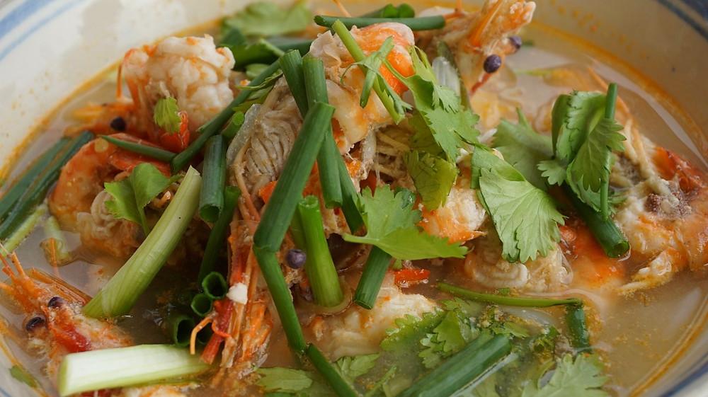 yum yam soup Mandalay