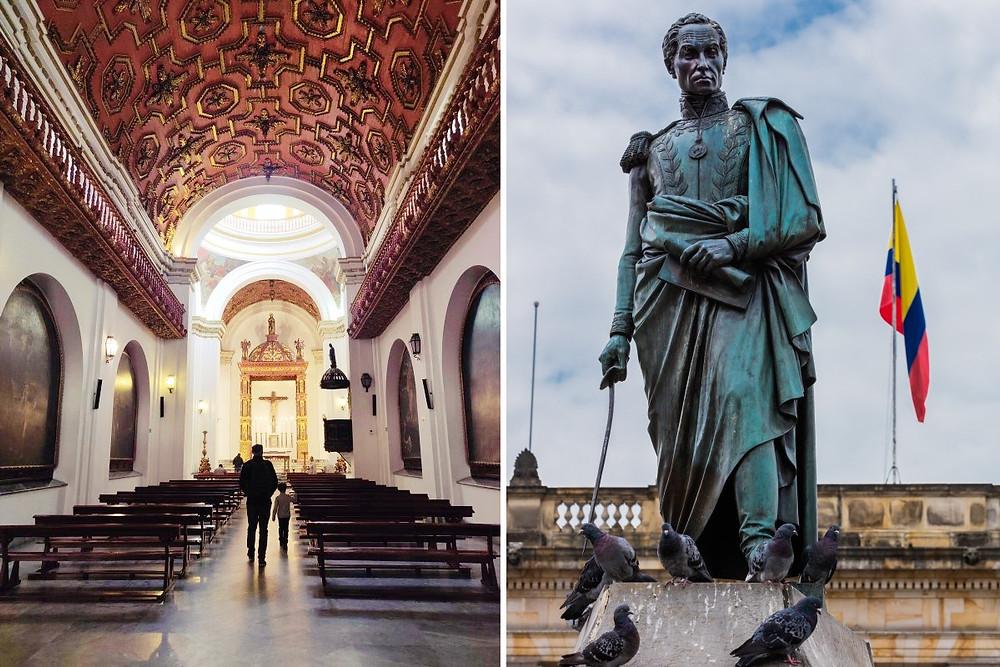 PlazaBolívar Cathédrale