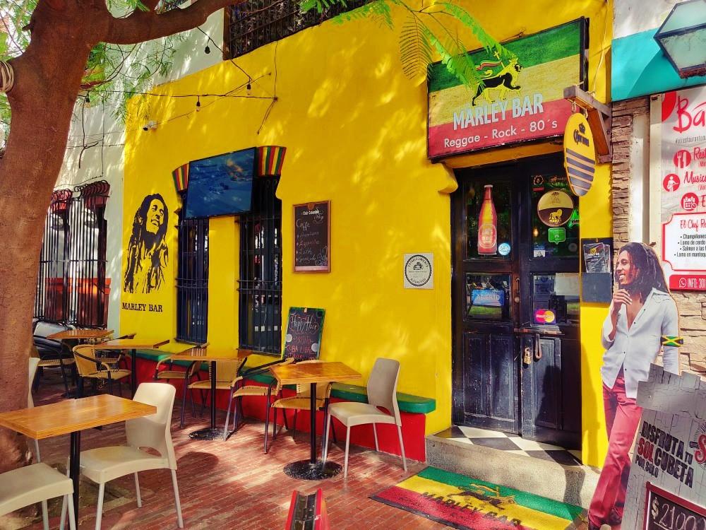 Santa Marta Colombie reggae bar