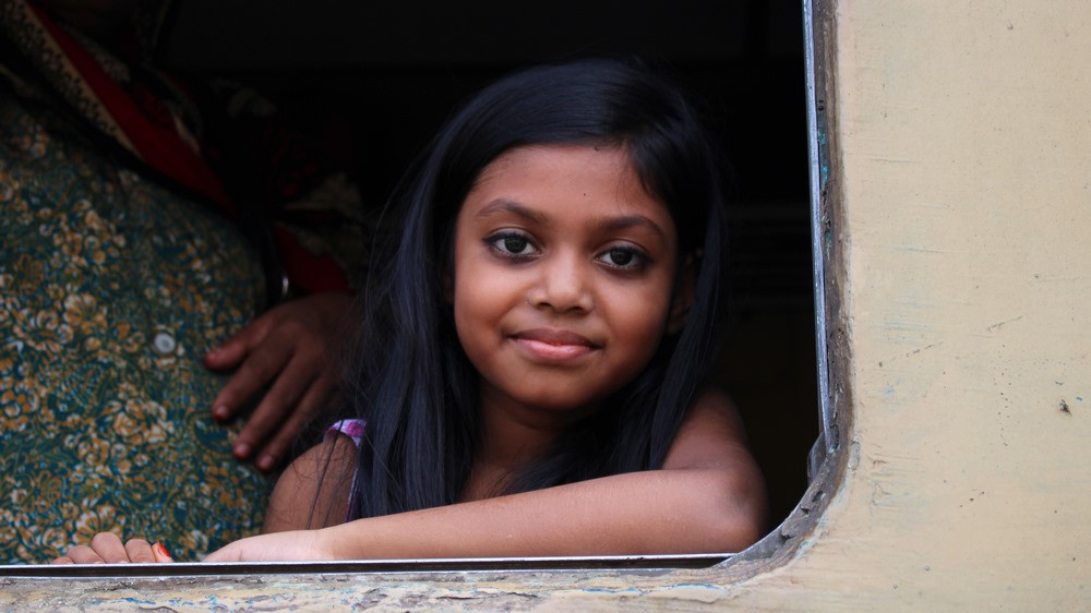 fenêtre du Train Bangladesh Dhaka Srimangal