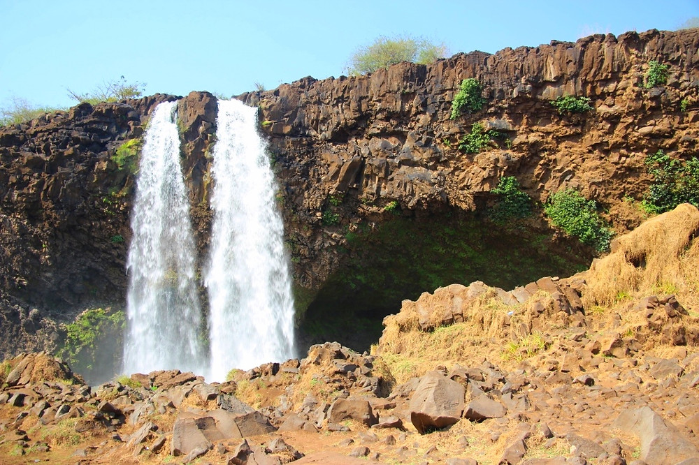 chutes du Nil Bleu en Ethiopie