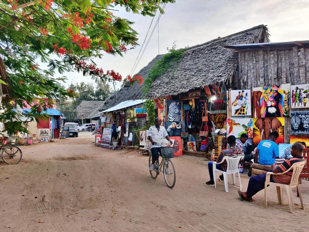 centre-ville de Nungwi