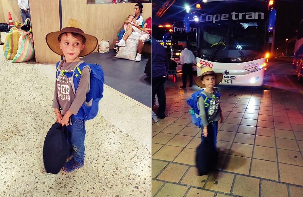 Gare routière colombie bus de nuit santa marta