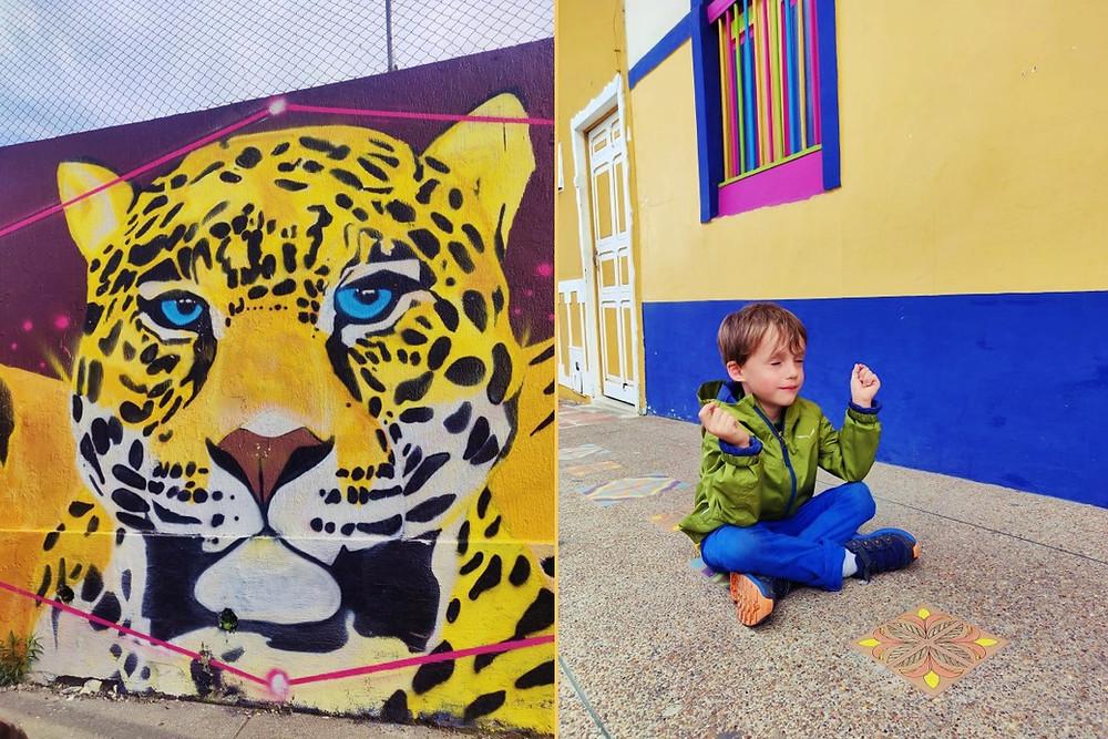 Street Art Filandia Colombie
