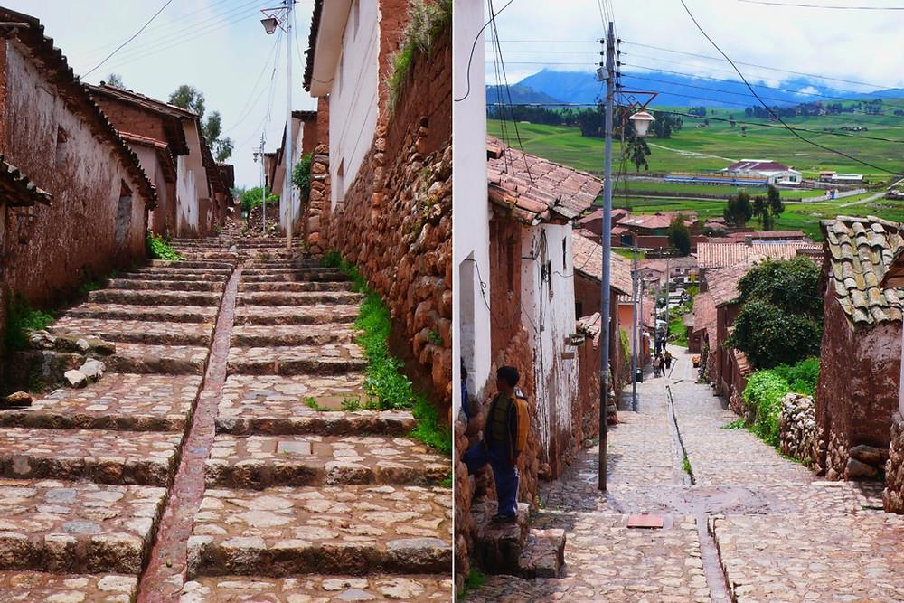ruelles Chinchero au Pérou