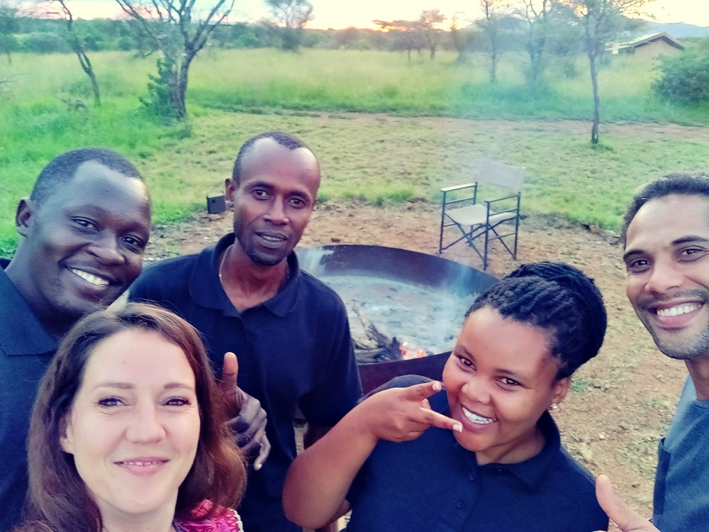 The whisper lodge Serengeti