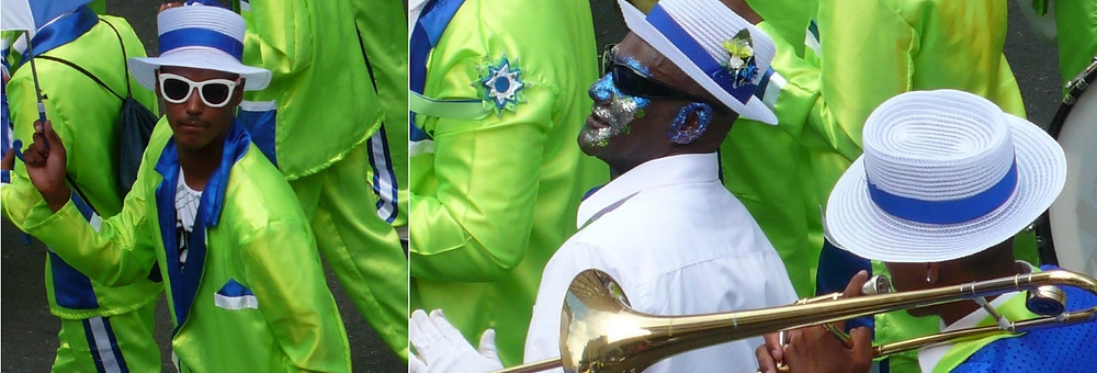 Capetown Minstrel carnival  Jour de l'an