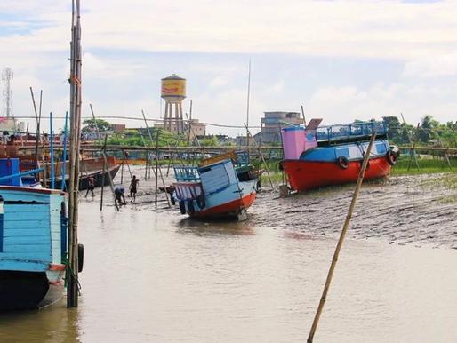 Mongla dans les Sundarbans au Bangladesh